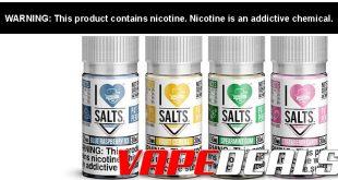 Mad Hatter I Love Salts E-liquid (30mL) $7.99