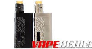 Wismec Luxotic MF Kit w/ Guillotine V2 RDA (US) $20.00