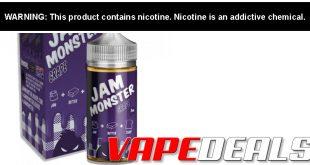 Jam Monster & Ice Monster E-liquid 100mL $6.36