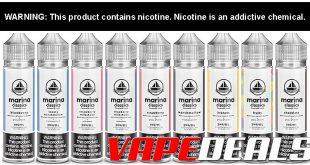Marina Classics E-liquid Sale (10 Flavors) $7.20