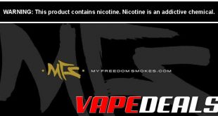 MyFreedomSmokes New Products Sale is Back!