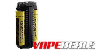 Nitecore F2 Dual Slot Battery Charger (USA) $8.45