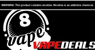Eightvape Sitewide Coupon Code (20% Off)