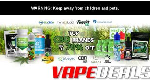Oh My Gush CBD E-liquid Sale (Up to 45% Off!)