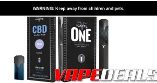 Ignite CBD Vape Kit $10.00 / Pods $4.00