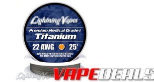 Lightning Vapes Black Fri / Cyber Mon Sale (35% Off!)