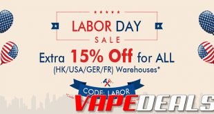 Vaporl Labor Day 2019 Sale + New Coupon Codes