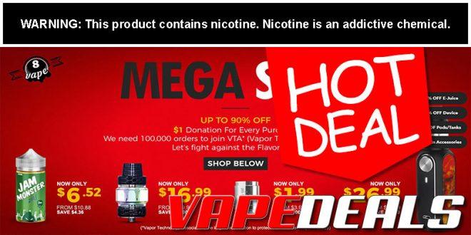 Eightvape Mega Sale! (Up to 90% Off)