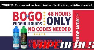 VAPE DEALS: Vaping | Vape Mods | E Liquid | Ecigs
