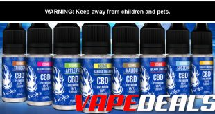 Halo CBD Premium Vape Liquid Intro Price $9.99