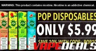 POP Disposable Vape Device Sale $5.99