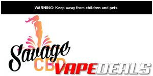Savage CBD Coupon Code: 20% Off Sitewide