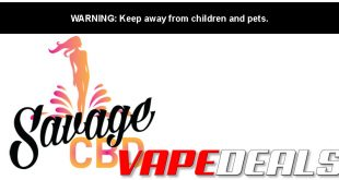 Savage CBD Disposable Vape Pens Sale (30% Off)