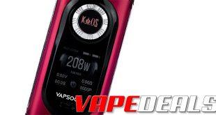 Sigelei Kaos Vapsoon 208W Box Mod (US) $17.00