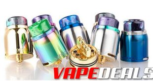 Voopoo Pericles RDA BLOWOUT (US) $4.95
