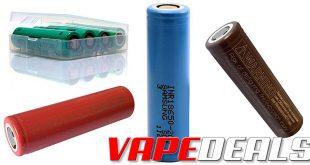 101vape Battery Sale (Samsung & LG) $2.37+
