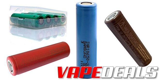 101vape Battery Sale (Samsung & LG) $2.37+
