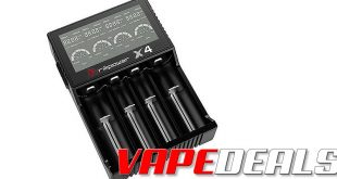 Brillipower X4 LCD Battery Charger (US) $9.95