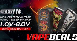 Dovpo MVV II Mechanical Mod $22.50
