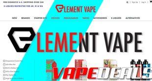 Element Vape Autumn Clearance Sale