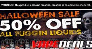 Fuggin Vapor Co Halloween 2019 Deals