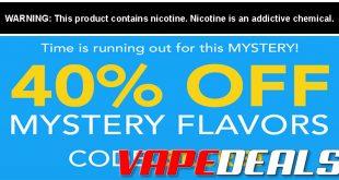 Breazy 40% Off E-liquid Sale (82 Flavors)
