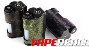 Dovpo Topside Dual Carbon 200w Squonk Box Mod $120.95
