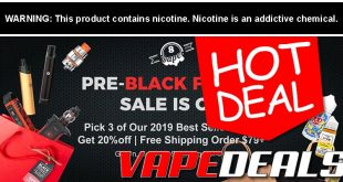 Eightvape Pre-Black Friday 2019 Sale (Round 3)