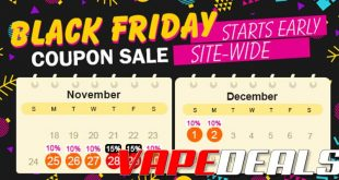 Fasttech Thanksgiving, Black Friday, Cyber Monday Sale