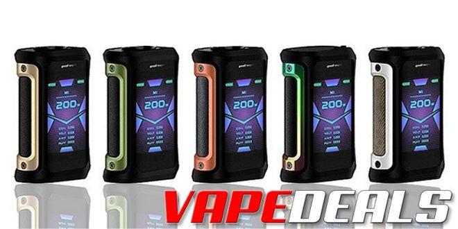 Aegis X 200W Box Mod by Geekvape (USA) $46.80