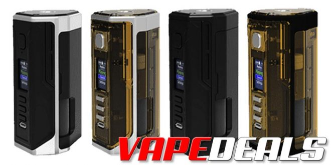 Drone DNA250C Squonk Mod by Lost Vape (USA) $76.99