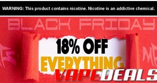 MyFreedomSmokes Black Friday 2019 Sitewide Sale