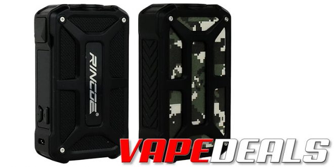 Rincoe Mechman or Manto X 228W Box Mod (US) $24.99