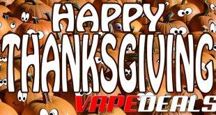 VAPE DEALS Thanksgiving 2019 List