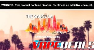 TheSauceLA November 2019 E-liquid Sale