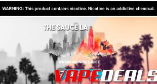 TheSauceLA Spring E-liquid Sale (40% Off)
