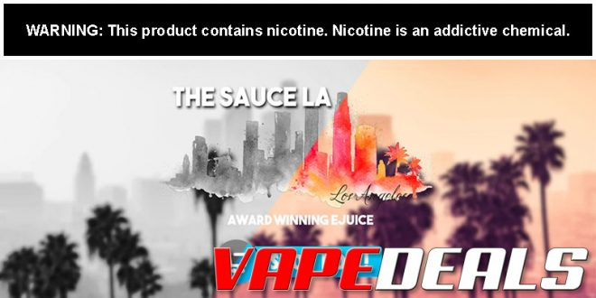 TheSauceLA Spring E-liquid Sale – Low Stock! (40% Off)