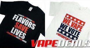 Vaping T-Shirts Sale (Advocacy) @MyVPro $9.99