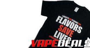 Vaping T-Shirts Sale (Advocacy) @MyVPro $9.00