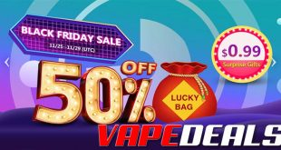 Vapeciga Black Friday 2019 Sale