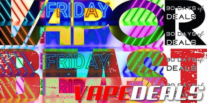 Vaporbeast 30 Days of Black Friday Deals