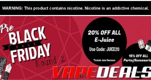 Vaporider Pre-Black Friday 2019 Sale (Round 2)