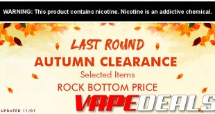 Vaporl Coupon Code Deals & Clearance Update