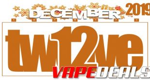 VAPE DEALS 12.12 2019 List