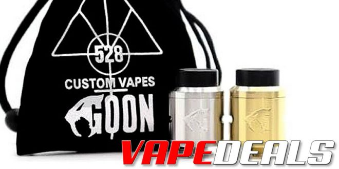 Goon V1.5 RDA by 528 Customs (USA) $31.50