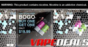 Abstrakt Vape E-liquid BOGO Sale (Deal of the Week)