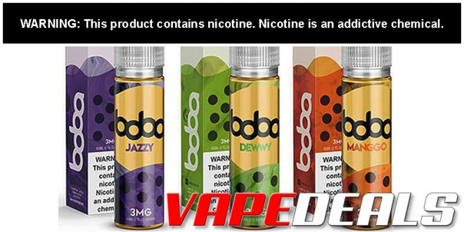 Jazzy Boba eJuice Review - Fancy a Cup?