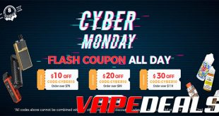 Eightvape Cyber Monday 2019 Sale + Coupon Codes