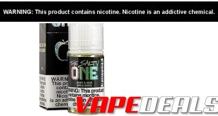 The Salty One E-liquid by Beard $2.99 | The One $6.99