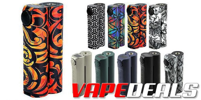 Squid Double Barrel V3 150W Box Mod (USA) $38.25
